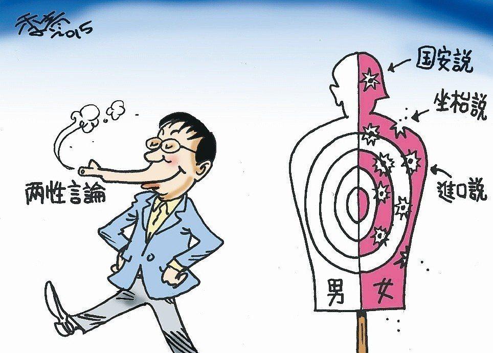 2015年台北市長柯文哲出席性別議題公共論壇時,稱台灣「進口」30萬外籍新娘,怎...