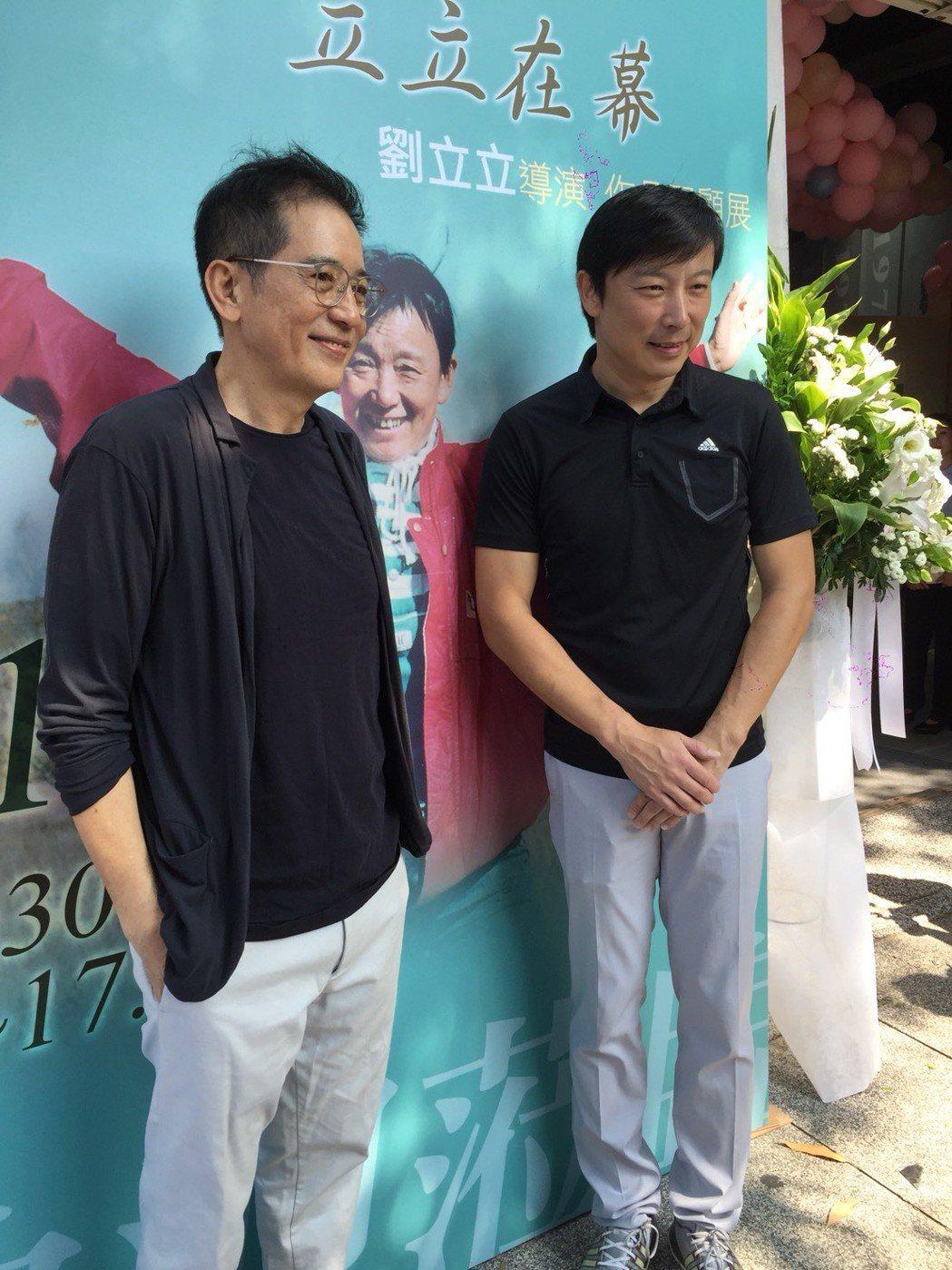 秦漢出席劉立立導演作品紀念回顧展。記者陳慧貞/攝影