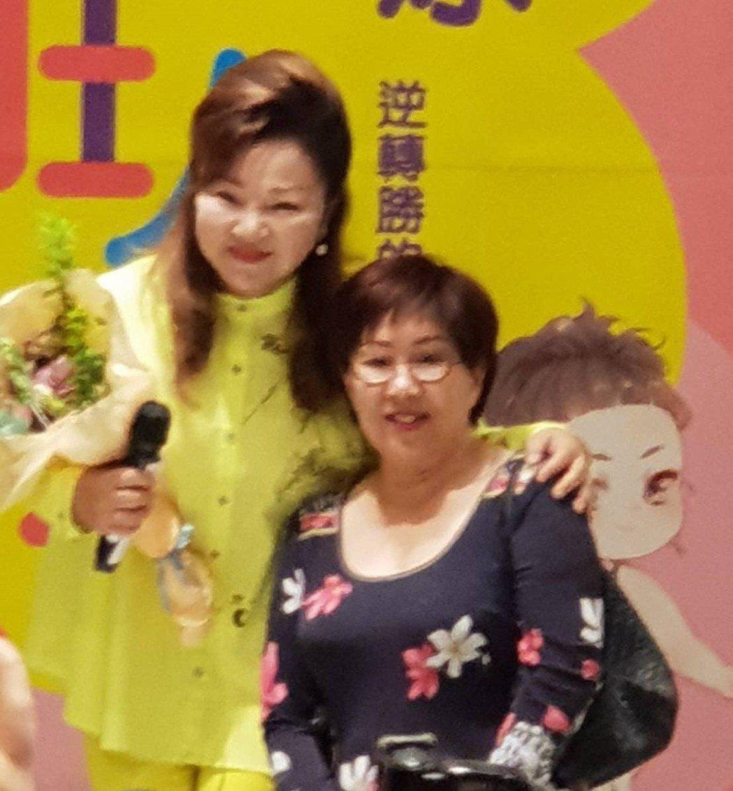 白冰冰和林志穎媽媽是好友。記者李姿瑩╱攝影