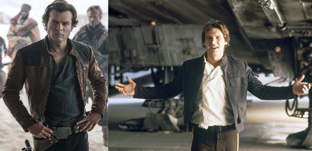艾登艾倫瑞克接下哈里遜福特的棒子,扮演年輕版的韓索羅。圖/摘自imdb