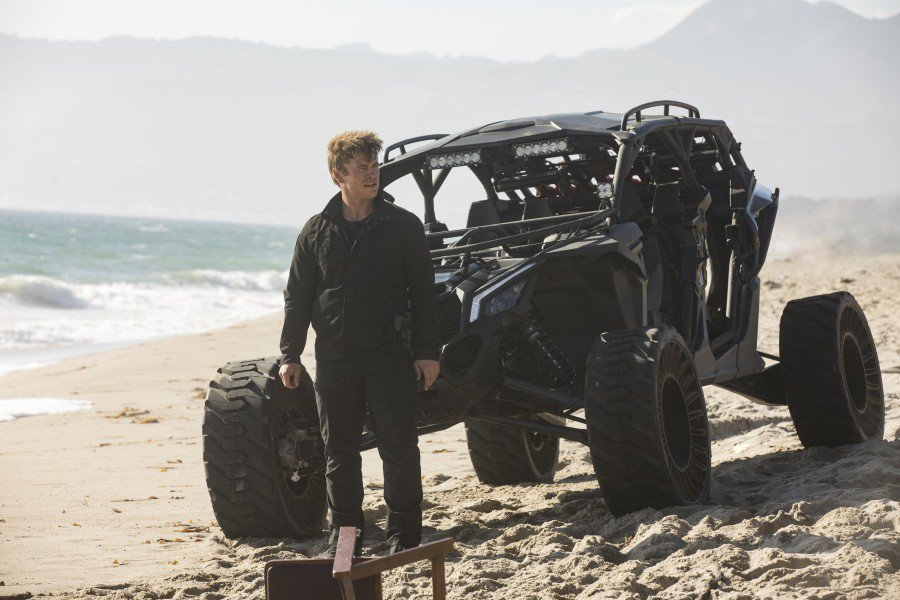 路克漢斯沃在影集「西方極樂園」擔任固定要角之一。圖/摘自HBO
