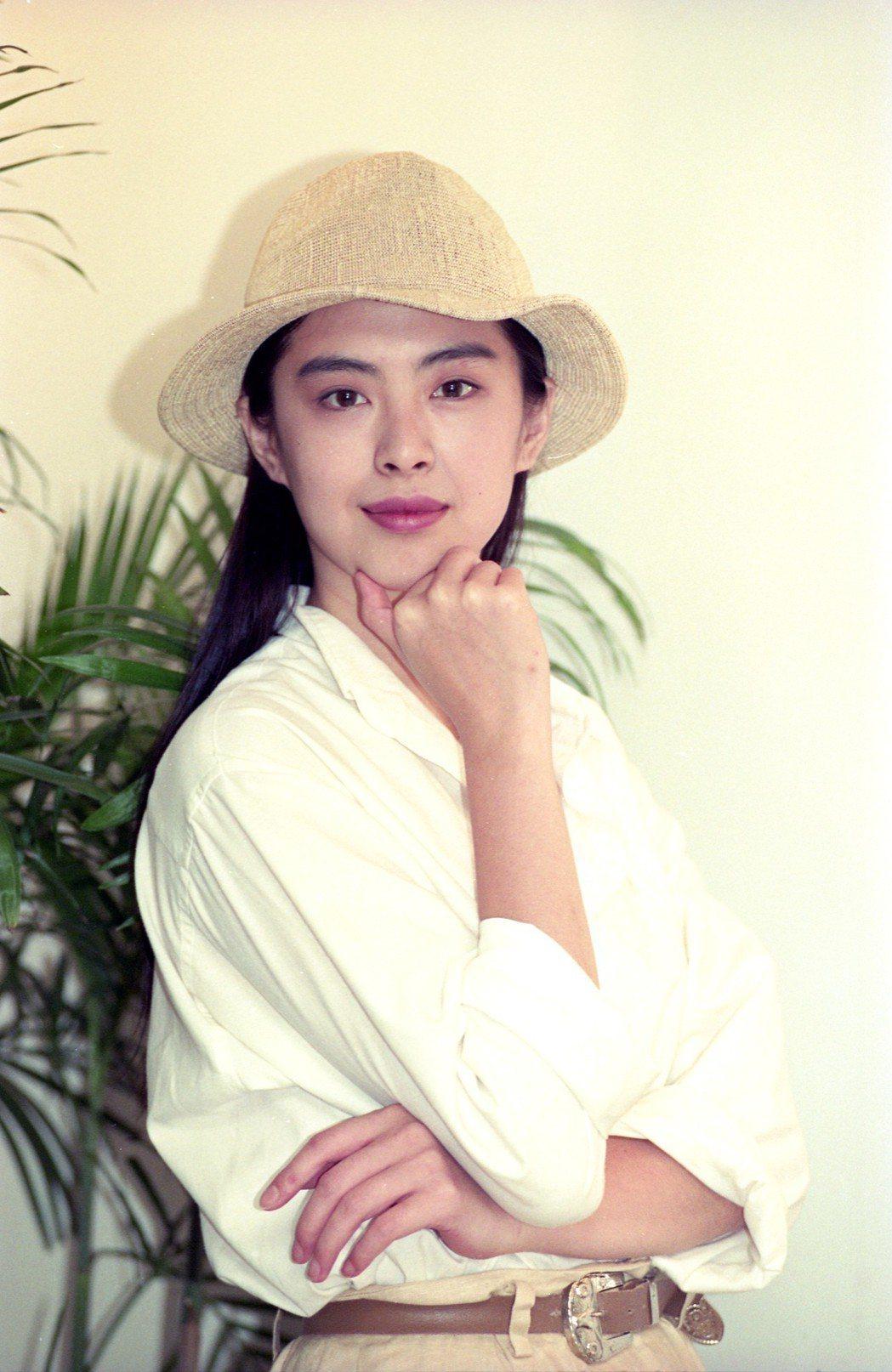 王祖賢以往就頗鍾愛以帽子當搭配。圖/報系資料照片