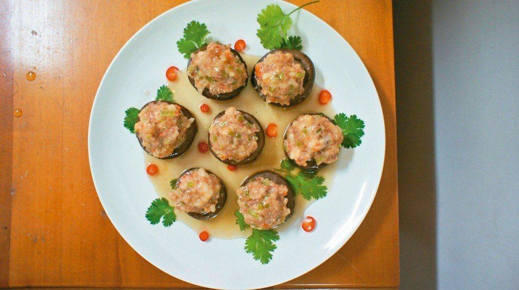 冬菇鑲肉 圖/陳芸英提供