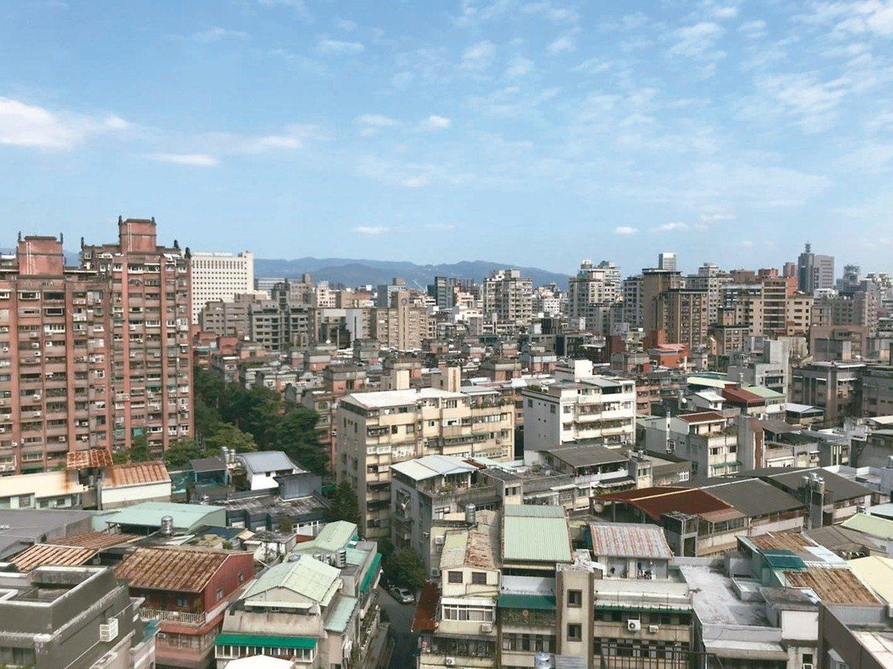 台北市北投區等低價區4月建物買賣移轉棟數年增率表現搶眼。 本報系資料庫