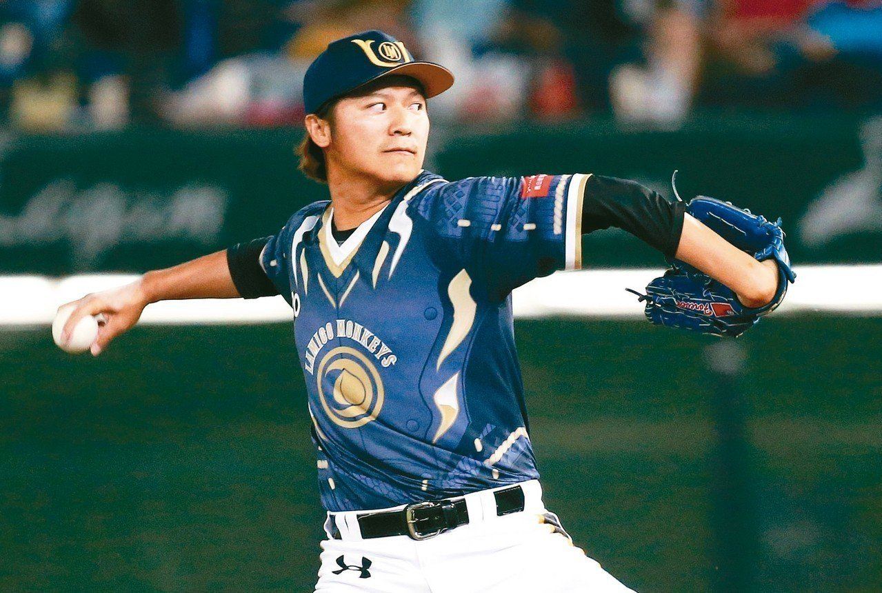 陳禹勳經過一個半月休養後,已可恢復投球。 圖/聯合報系資料照片