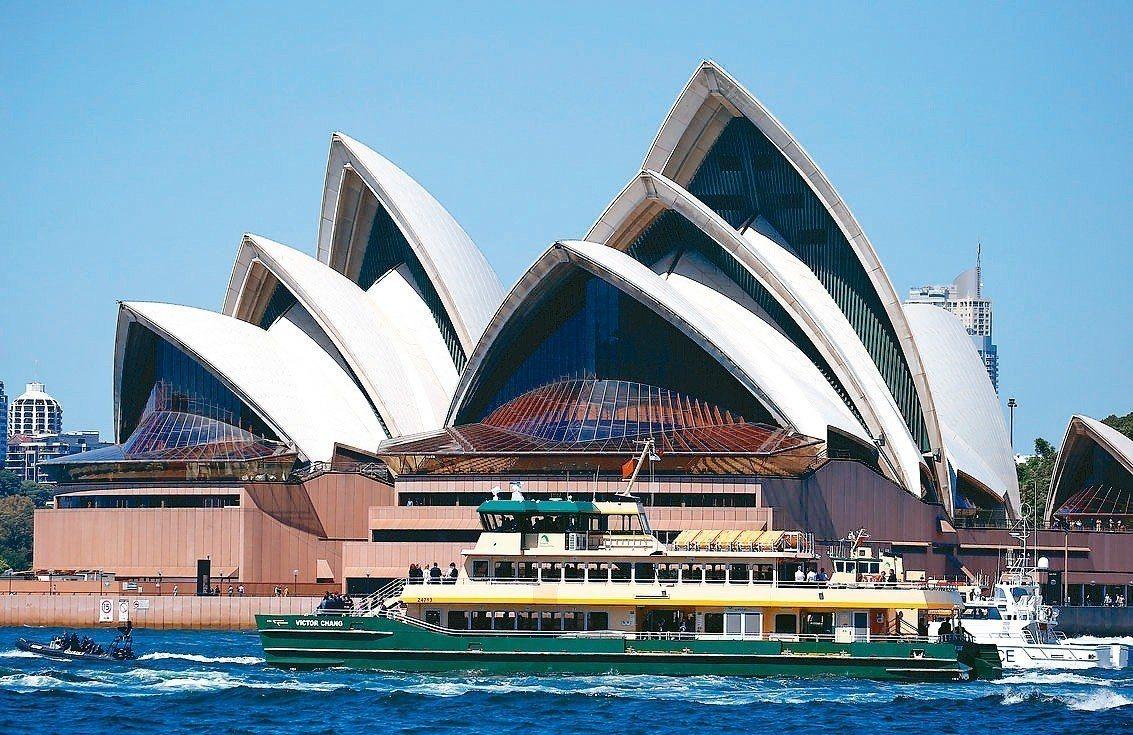 雪梨歌劇院。 路透