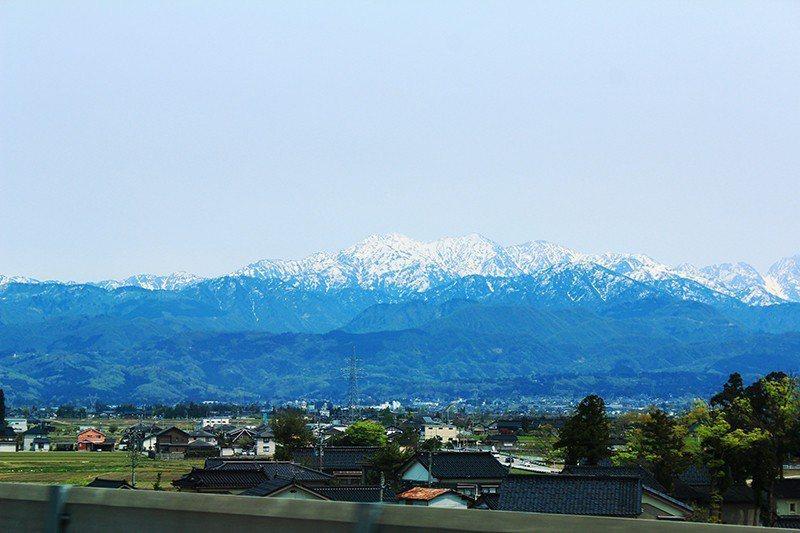 坐擁日本靈山的北陸地區。