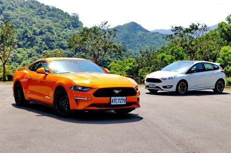 小排量榨出大樂趣 Ford Mustang & Focus黑潮特仕版試駕