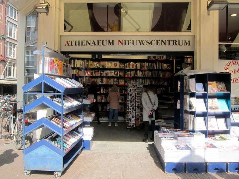 雅典娜書店是荷蘭最具代表性的獨立書店。 宋宜馨