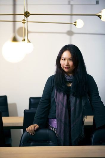 「台灣鄉民創業協會」創辦人黃文怡,對虛實整合有深刻的觀察。 葉俊宏