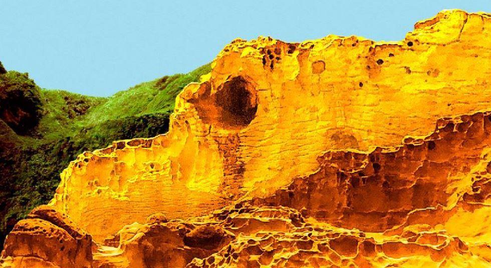 有像鱷魚岩淚?圖/和平島公園提供