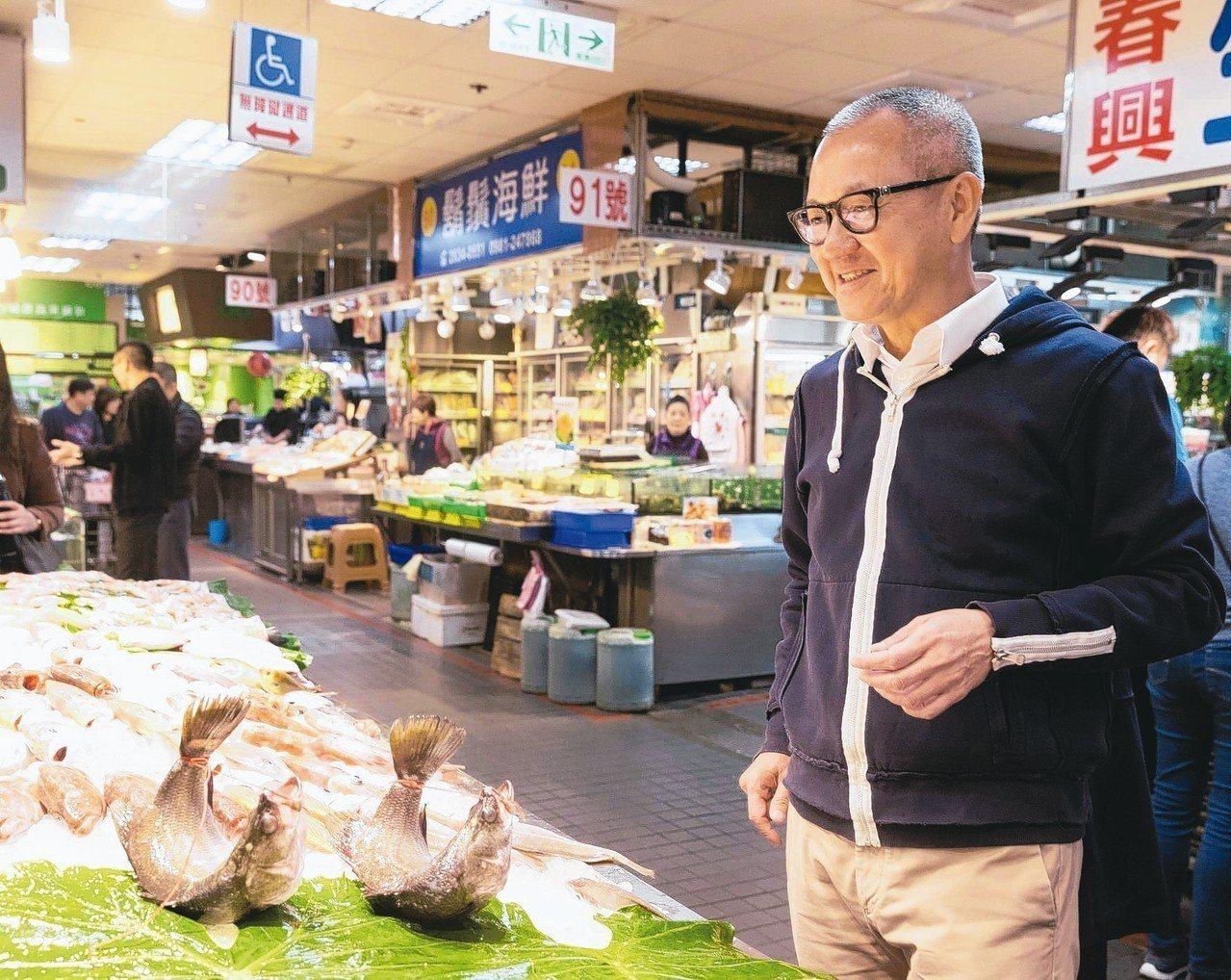陳泰銘身價不菲,但飲食口味親民。攝影/陳立凱