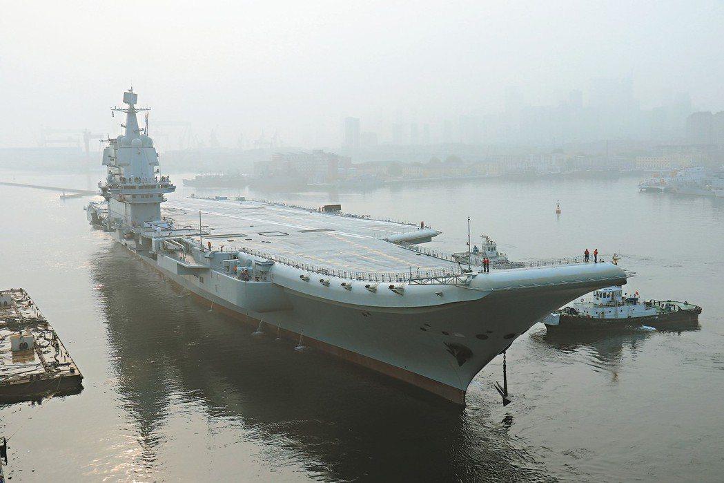 大陸自製航母啟動海試 航艦研發團隊成軍