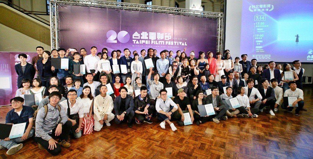 台北電影節公布「台北電影獎」劇情長片、紀錄片、短片、動畫片四大類的入選名單記者會...