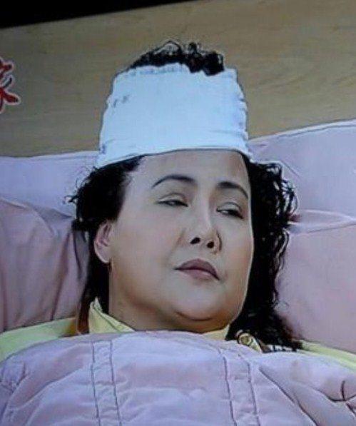 鍾佳蓁出道多年,因為一幕頭髮骨折戲,令人印象深刻。圖/擷自YouTube