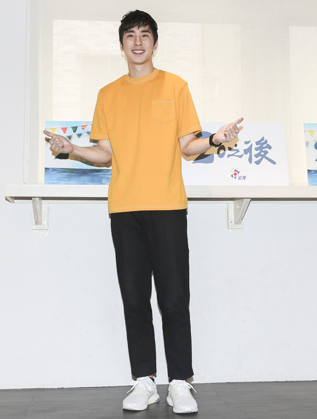 公視X稻田電影工作室,胡釋安出道戲劇作品連續劇《20之後》。記者楊萬雲/攝影
