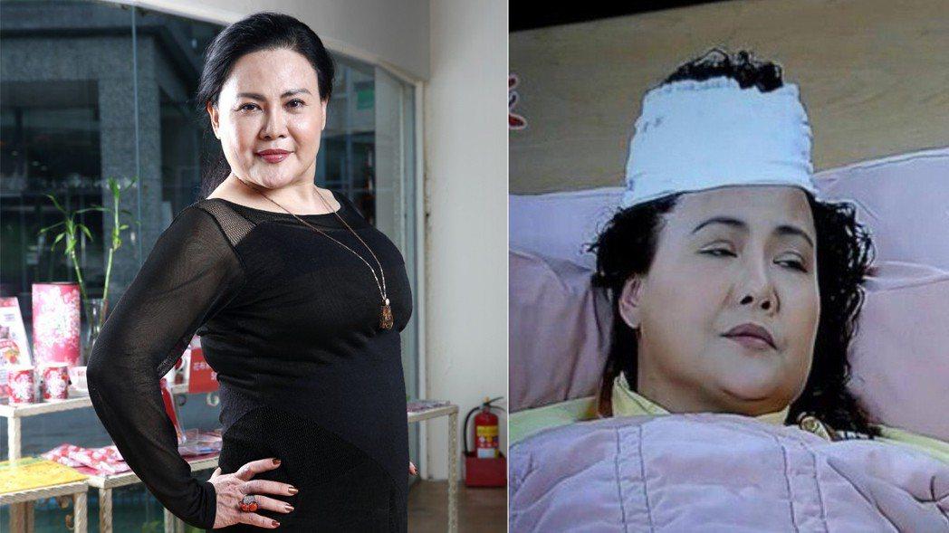鍾佳蓁出道多年,因為一幕頭髮骨折戲,令人印象深刻。。圖/記者蘇健忠攝影、擷自Yo