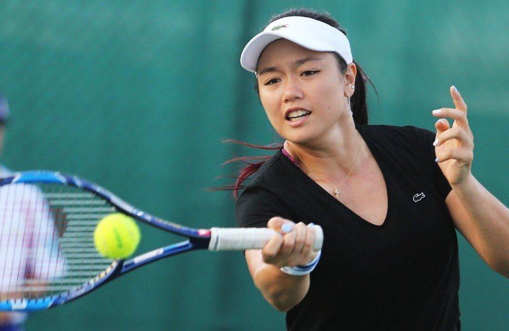 我國網球女將詹詠然。 圖/聯合報系資料照片