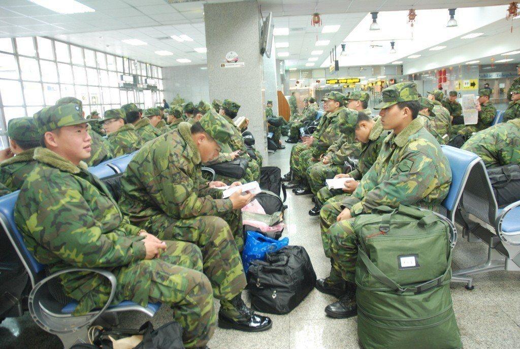 我國今年1月1日實施「全募兵制」。 圖/聯合報系資料照片