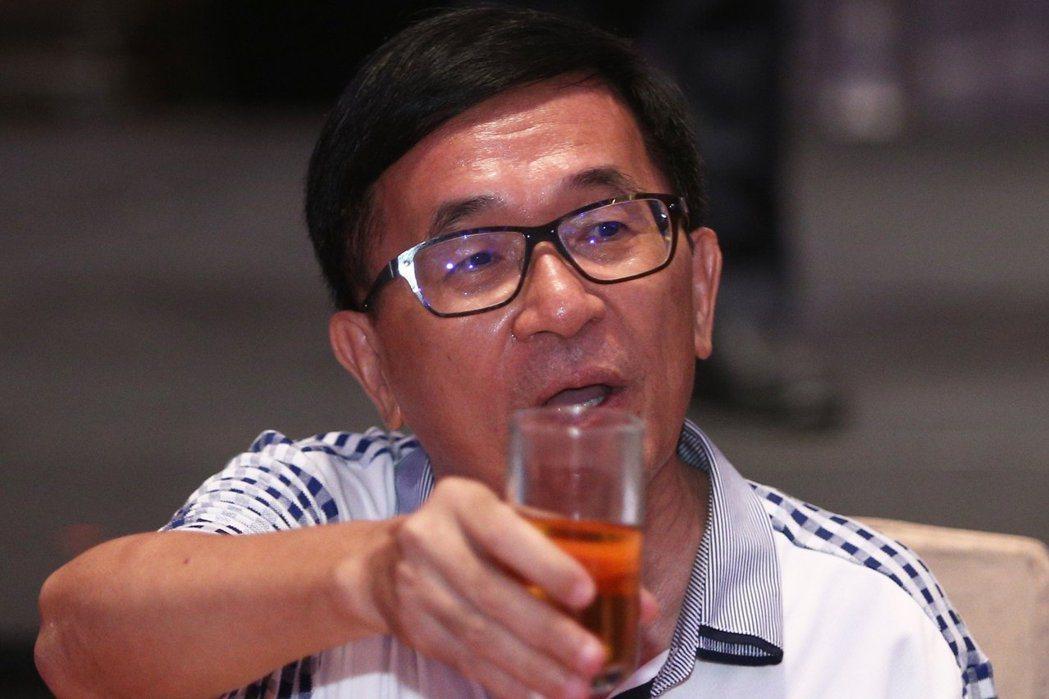 前總統陳水扁昨發新勇哥物語表示,國防部曾告訴他「全募兵制」不可行。 圖/聯合報系...