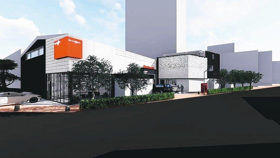百超國際位於新北市五股區的展示營運中心,將是亞洲區最大展間。 百超/提供
