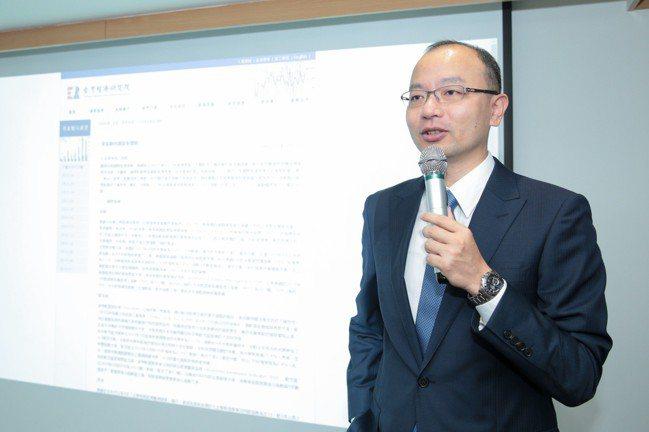 台灣經濟研究院景氣預測中心主任孫明德。 報系資料照