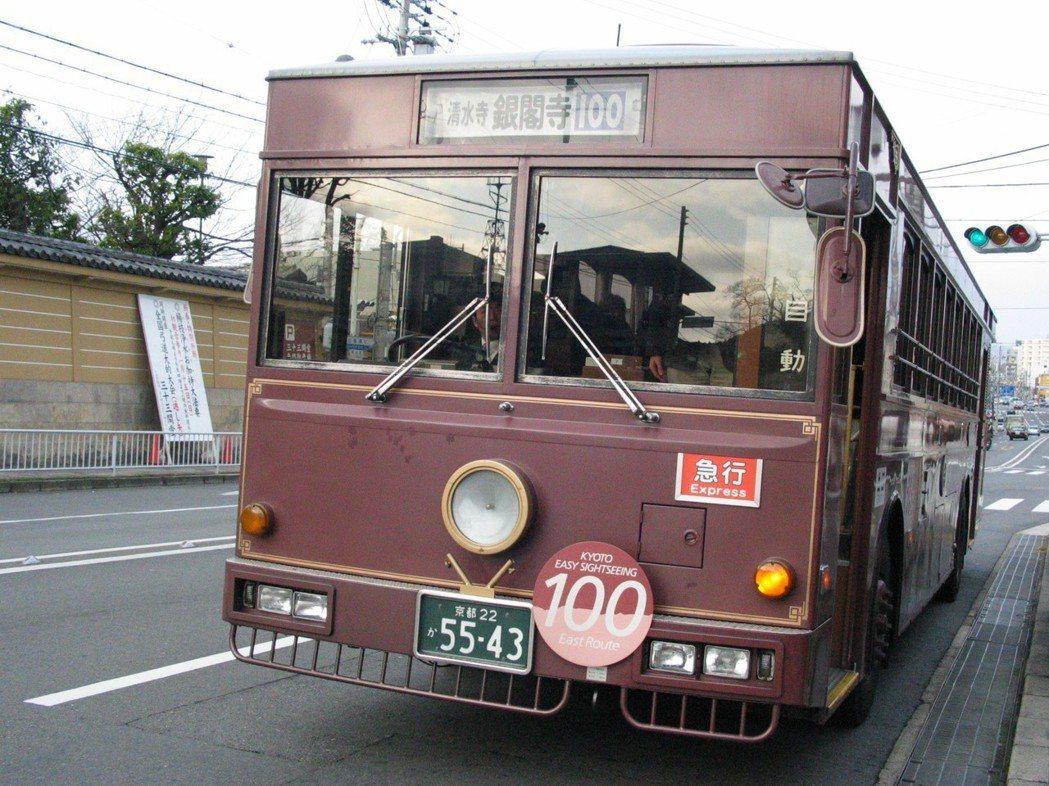 日本公車。 圖/聯合報系資料照片