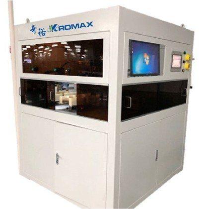 奇裕開發之KW-PLUS雷射劃片機具有高産能,單片生産最快可達僅一秒,爲目前市面...