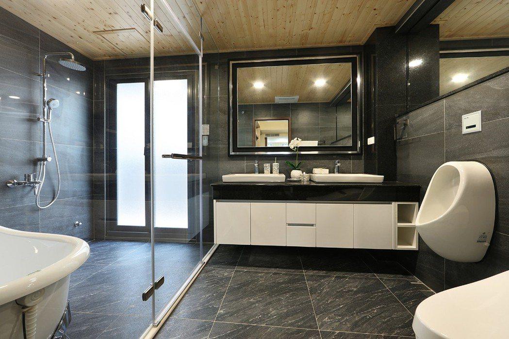 屬於自己的療癒時間,洗淨一日煩憂,媲美五星級飯店衛浴設備,乾溼分離,空間寬闊更自...