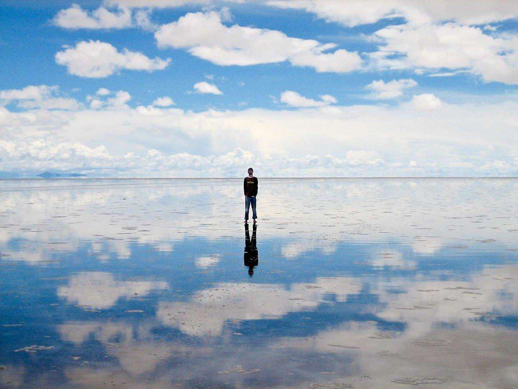 ▲天空之鏡-玻利維亞烏尤尼鹽湖。(圖/攝影者:Alan & Flora Bott...