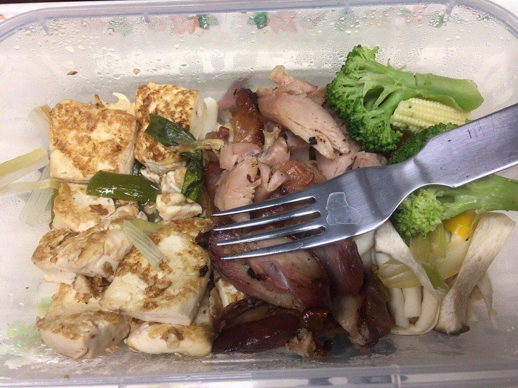 呂曜志雖外食,挑著吃讓自己瘦一大圈,感覺健康輕鬆。圖/呂曜志提供