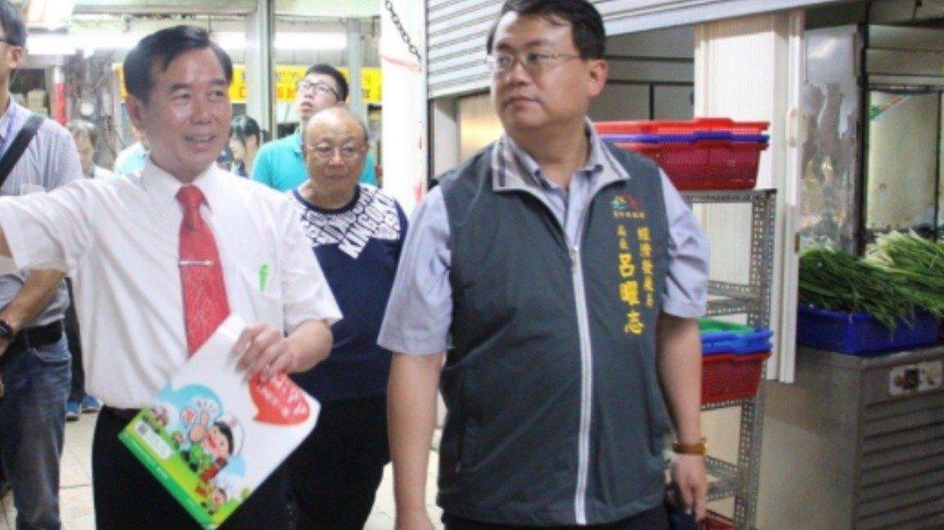 台中市經發局長呂曜志有三高,減重找回健康。圖/台中市新聞局提供