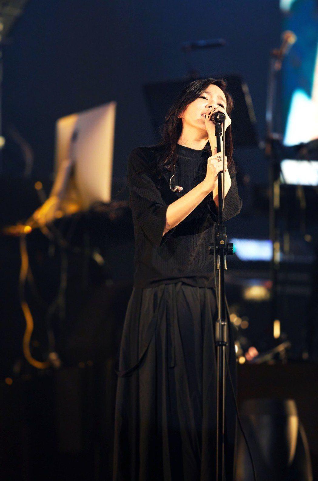 安溥在開唱前一周還因為彩排太勞累不小心得了風寒。圖/聯成娛樂提供