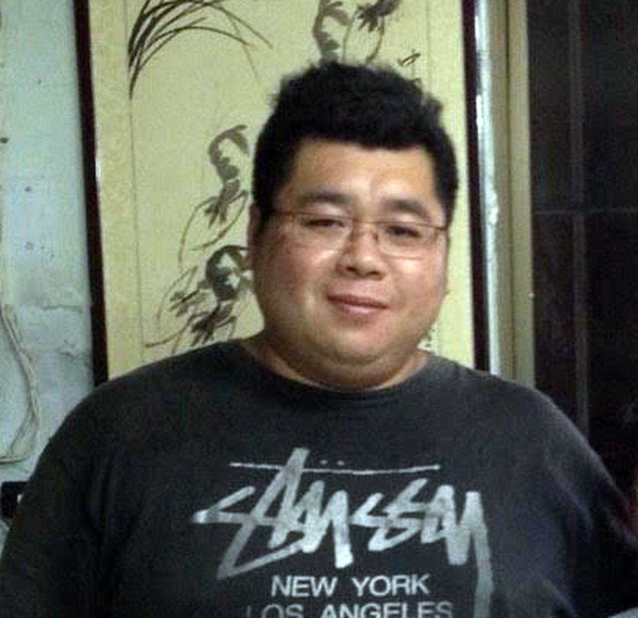 郭姓男子體重曾高達140公斤,家人擔心他罹患心血管疾病,他才積極減重。記者王昭月...