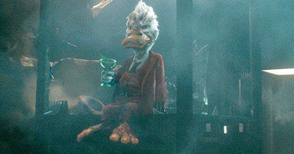 於「星際異攻隊」再次登上大銀幕的霍華鴨,造型看來已大不相同。圖/摘自moview...