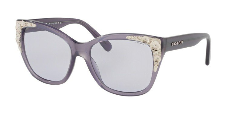 COACH香水月季太陽眼鏡,約8,300元。圖/Luxottica提供