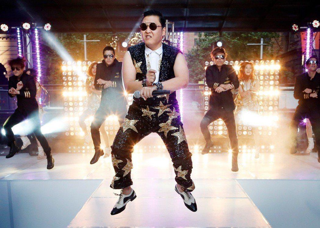 PSY在2012年以一曲「江南Style」,紅遍全球。 路透社
