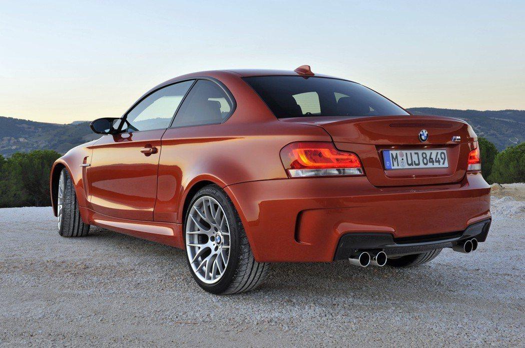 圖為現已停產的BMW 1M (E82)。 摘自BMW