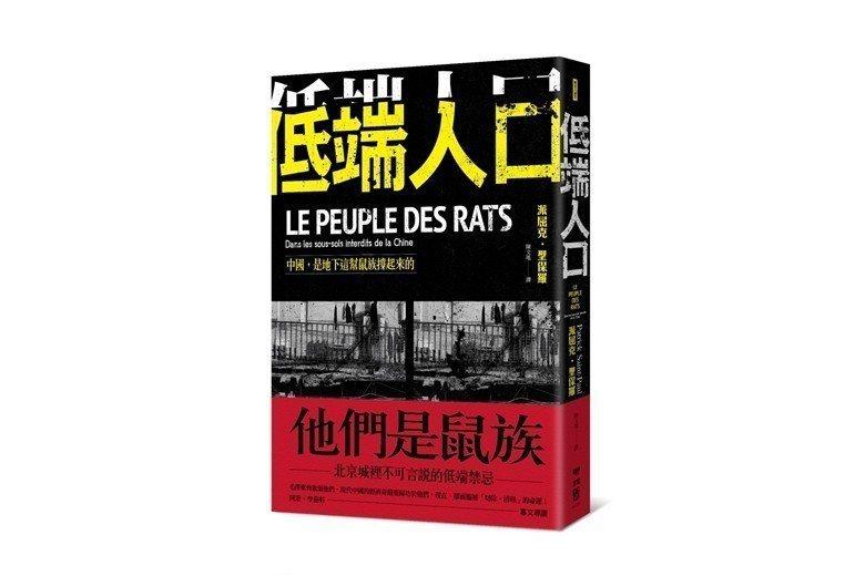 《低端人口:中國,是地下這幫鼠族撐起來的》書封。 圖/聯經出版
