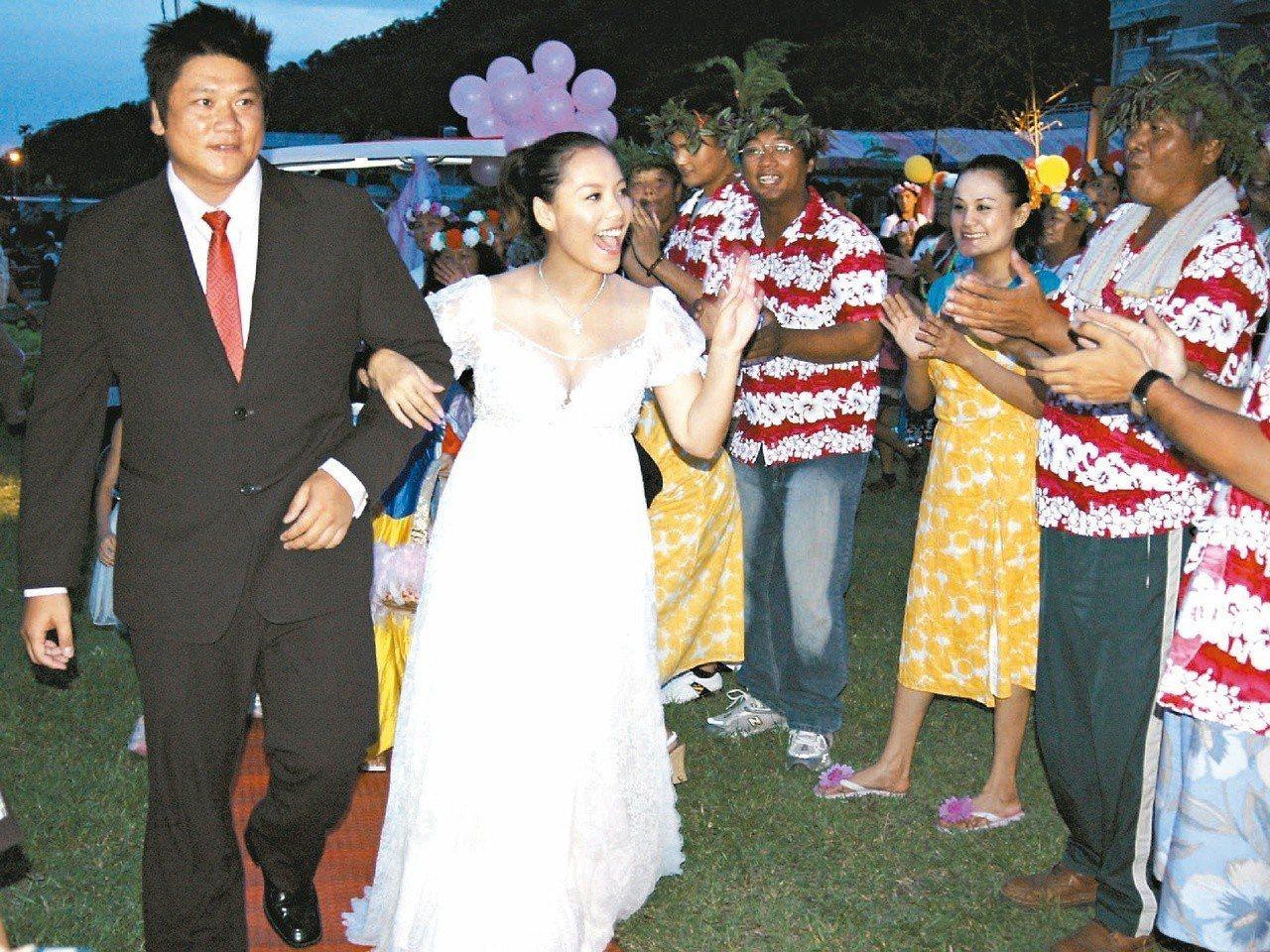 豐偌暉2007年與SAYA結婚,2014年傳離婚。 報系資料照