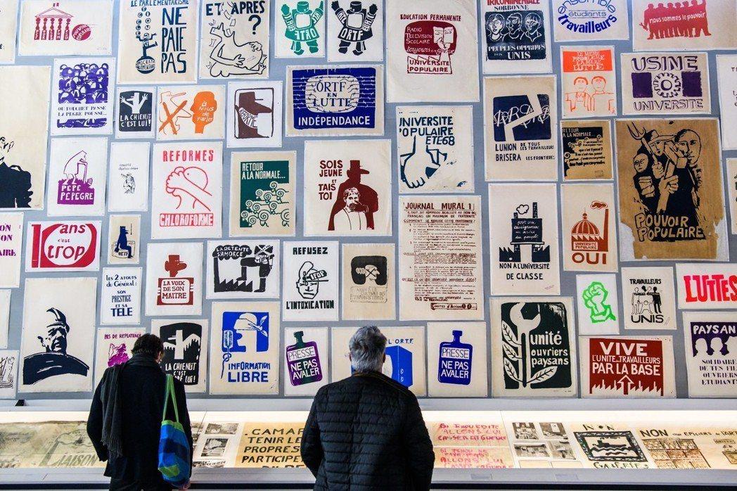 六八學運50週年的活動中,大多數以歷史回顧為主,比如回顧1968-1974年間法...