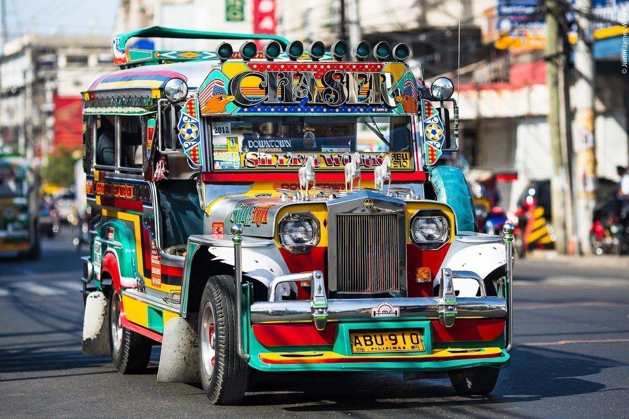 吉普尼 Jeepney pinterest.com