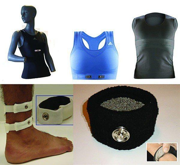紡織電極可內嵌至衣服中,製成智慧運動衣,也可製作成隨時可摘式腕帶,而醫療方面則能...