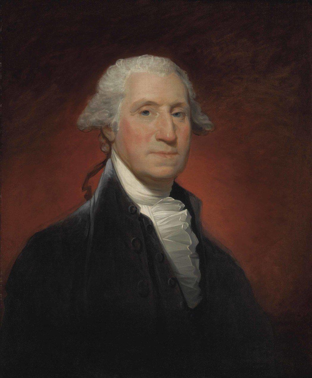 吉爾伯特·斯圖爾特《喬治·華盛頓(沃恩型)》 成交價 USD 11,562,50...