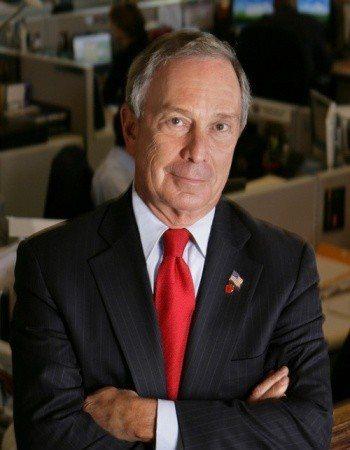 前紐約市市長長彭博 Michael Rubens Bloomberg