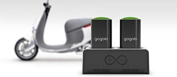 圖2 : 電力系統是Gogoro電動車的核心技術,是實踐智慧城市願景的一環(so...