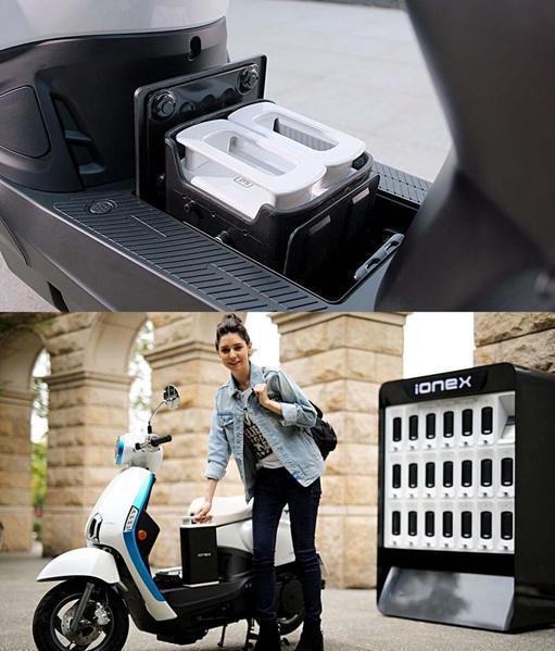 圖5 : 光陽電池為買斷式產品,騎士擁有電池所有權(source: MCN)。