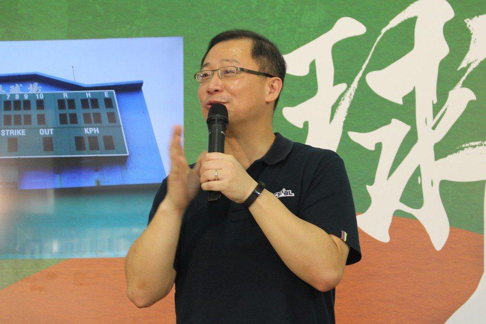 中職會長吳志揚。 聯合報系資料照