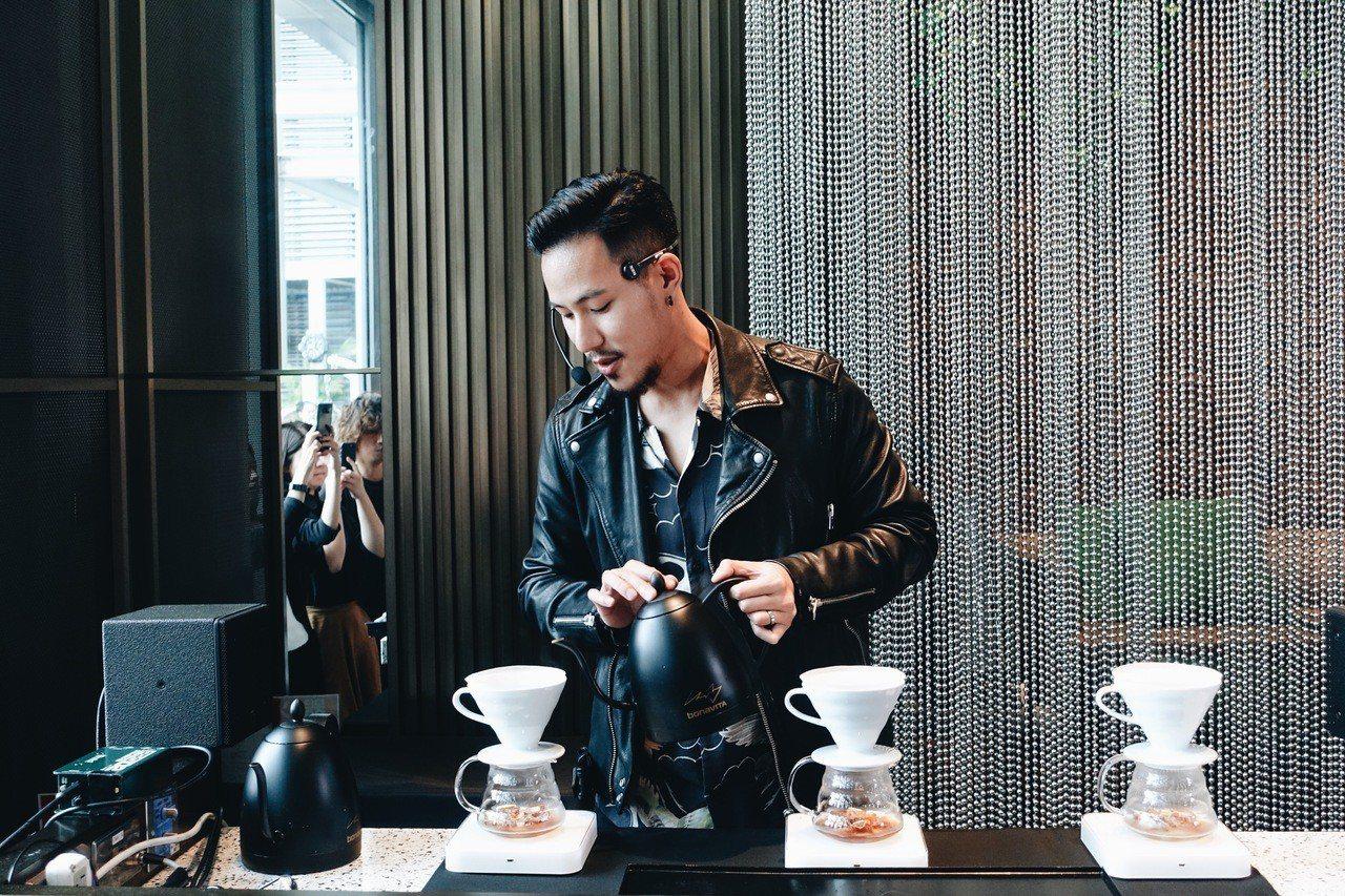 王策今出席與W飯店合作咖啡午茶活動。記者沈佩臻/攝影