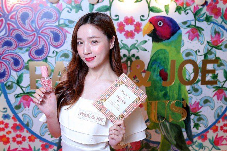 PAUL & JOE法式美妝馬戲團快閃店,特別帶來日本熱賣的限量商品粉紅泡泡珍珠...
